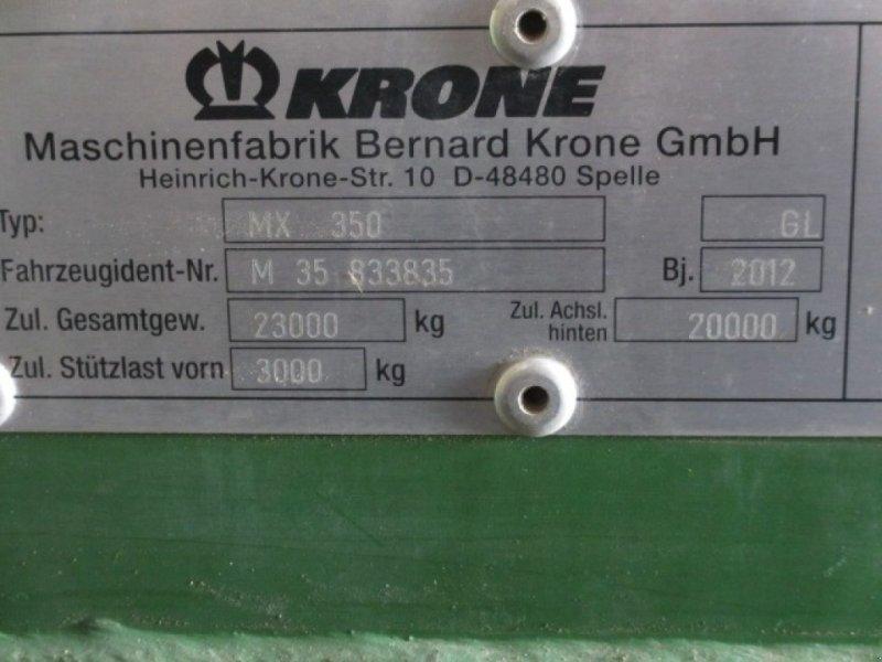 Ladewagen a típus Krone MX 350 GL, Gebrauchtmaschine ekkor: Konradsreuth (Kép 11)