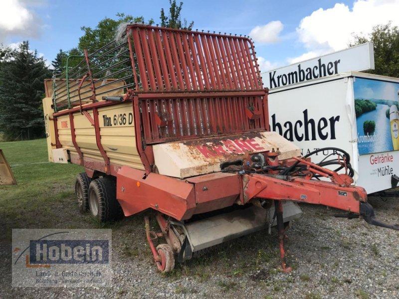 Ladewagen типа Krone Titan 6/36 D, Gebrauchtmaschine в Coppenbruegge (Фотография 1)