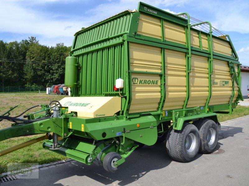 Ladewagen типа Krone Titan 6/40 GL All In - im Topzustand - ganz wenig gelaufen und mit einer 1-Kreis-Druckluft-Bremse, Gebrauchtmaschine в Burgrieden (Фотография 1)