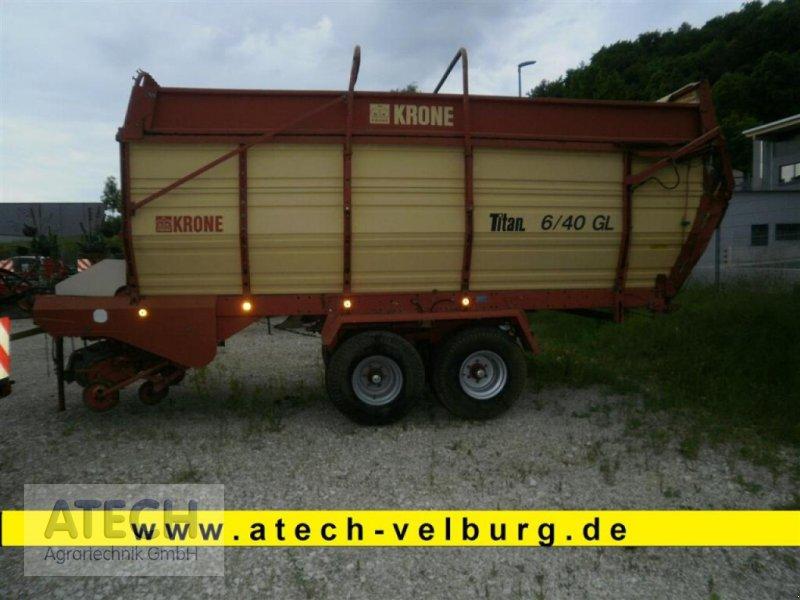 Ladewagen des Typs Krone Titan 6/40 GL, Gebrauchtmaschine in Velburg (Bild 1)