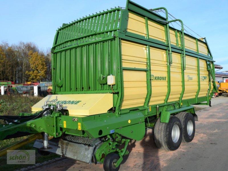 Ladewagen a típus Krone Titan 6/48 GL All In mit Tasträdern auch hinter der Pick-Up !!!, Gebrauchtmaschine ekkor: Amtzell (Kép 1)