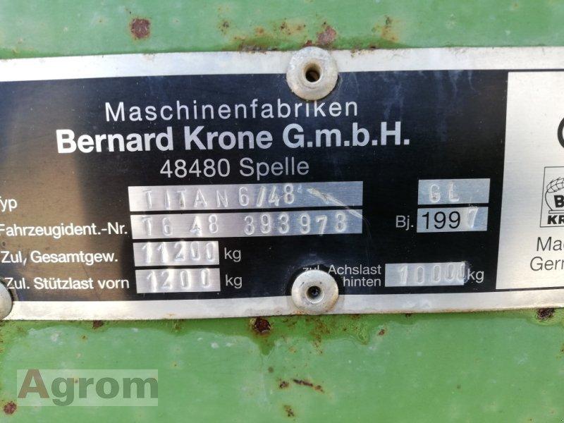 Ladewagen a típus Krone Titan 6/48 GL, Gebrauchtmaschine ekkor: Neuried (Kép 6)