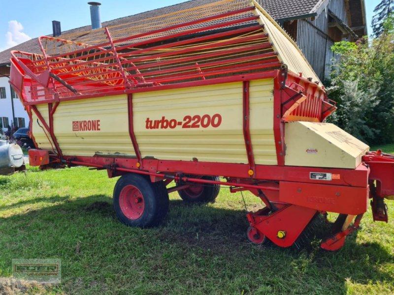 Ladewagen типа Krone Turbo 2200, Gebrauchtmaschine в Tuntenhausen (Фотография 1)