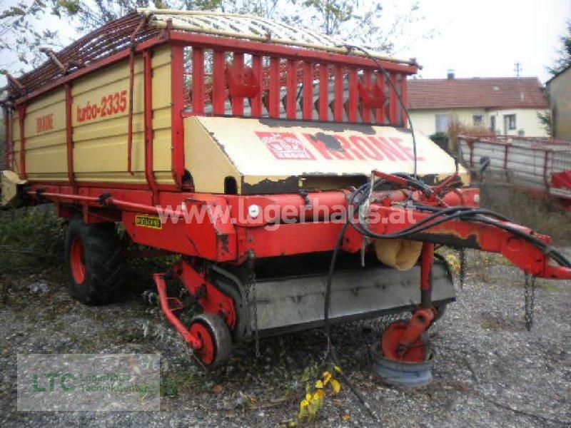 Ladewagen des Typs Krone TURBO 2335, Gebrauchtmaschine in Schärding (Bild 1)