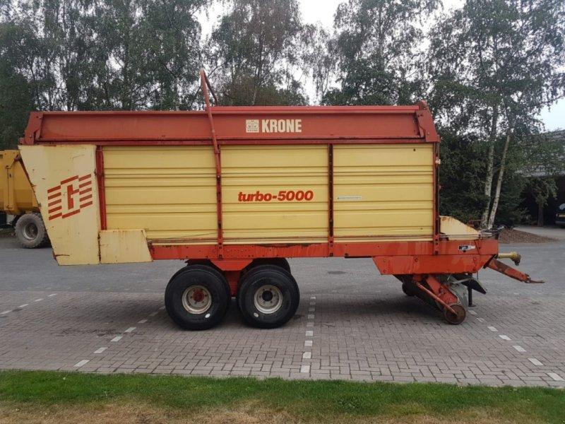 Ladewagen tip Krone Turbo 5000, Gebrauchtmaschine in Vriezenveen (Poză 8)