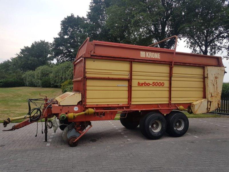 Ladewagen tip Krone Turbo 5000, Gebrauchtmaschine in Vriezenveen (Poză 1)