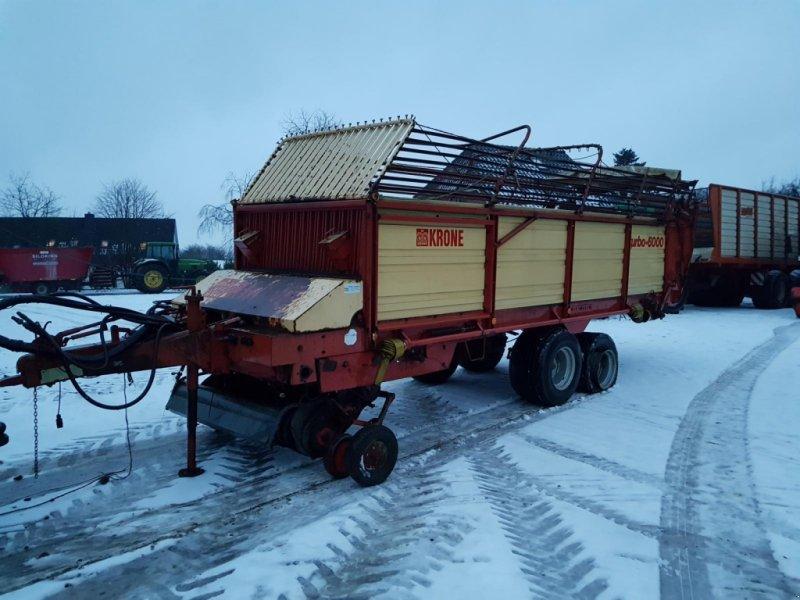 Ladewagen des Typs Krone Turbo 6000, Gebrauchtmaschine in Honigsee (Bild 1)
