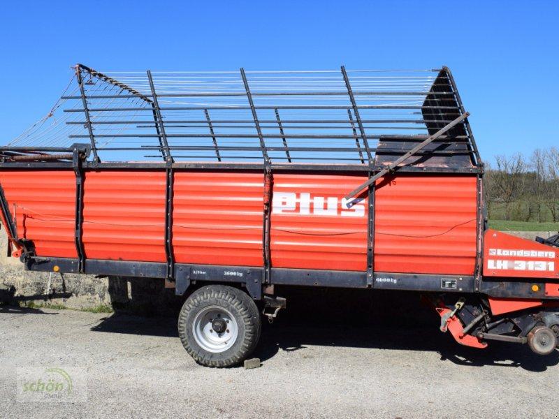 Ladewagen des Typs Landsberg LH 3131 mit hydraulischem Kratzbodenantrieb und Knickdeichsel - ähnlich Pöttinger Ladeprofi 2, Gebrauchtmaschine in Amtzell (Bild 2)