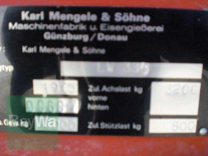 Ladewagen des Typs Mengele LADEWAGEN MENGELE LW 330., Gebrauchtmaschine in Schönau b.Tuntenhausen (Bild 11)