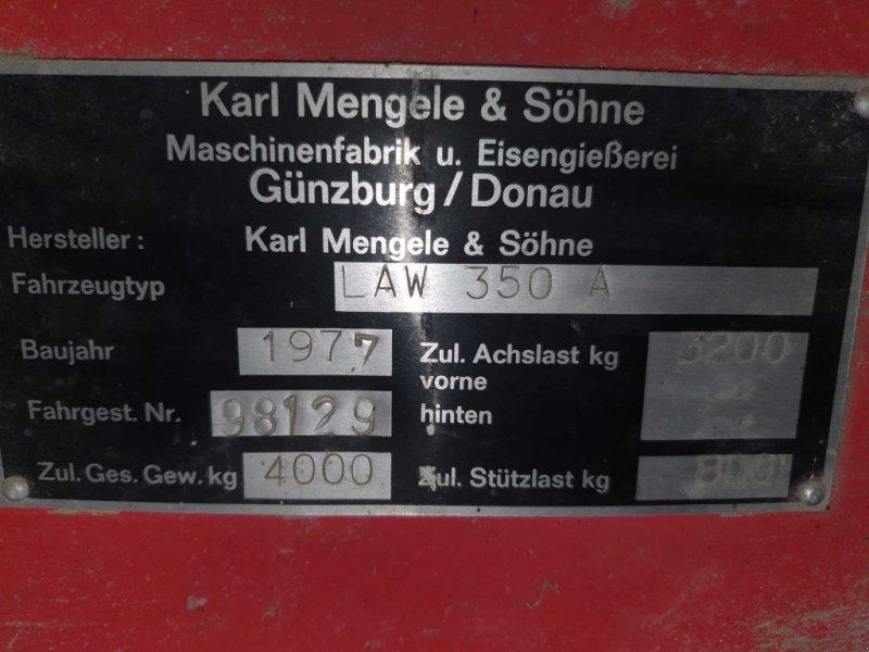 Ladewagen des Typs Mengele LAW 350, Gebrauchtmaschine in Kirchanschoering (Bild 3)