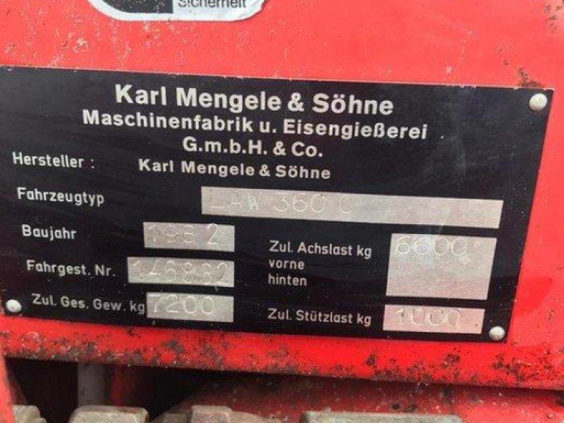 Ladewagen типа Mengele LAW 360 Ladewagen, Gebrauchtmaschine в Elmenhorst-Lanken (Фотография 4)