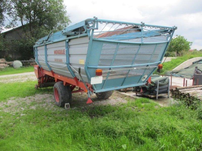 Ladewagen des Typs Mengele LW 310 Quadro, Gebrauchtmaschine in Suedbayern (Bild 3)