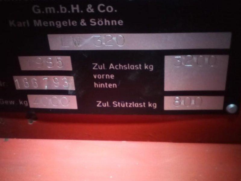 Ladewagen des Typs Mengele LW 320 Quadro, Gebrauchtmaschine in Oberstaufen (Bild 1)