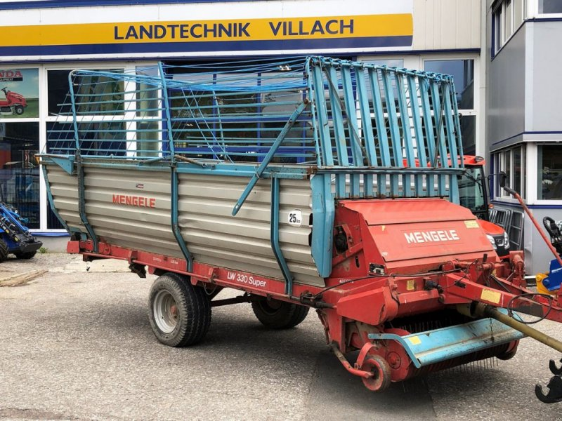 Ladewagen des Typs Mengele LW 330, Gebrauchtmaschine in Villach (Bild 1)