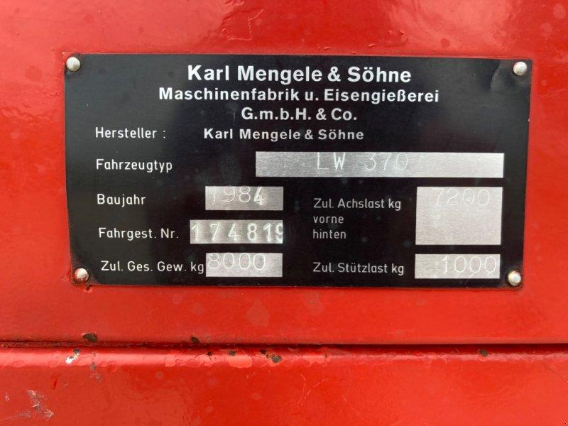Ladewagen des Typs Mengele LW 370 Super, Gebrauchtmaschine in Schemmerhofen (Bild 3)