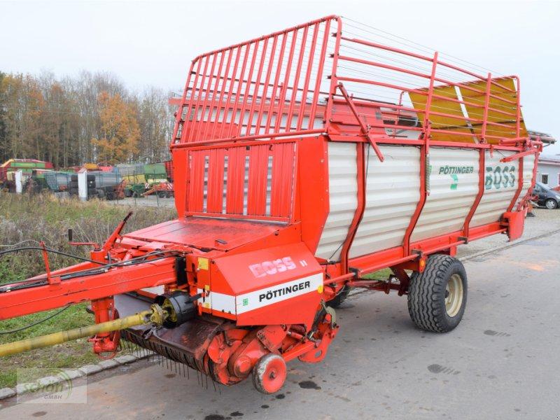 Ladewagen des Typs Pöttinger Boss 2A mit Schwenkdeichsel - auch Teileverkauf möglich, Gebrauchtmaschine in Amtzell (Bild 1)