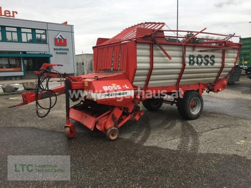 Ladewagen des Typs Pöttinger BOSS-L, Gebrauchtmaschine in Attnang-Puchheim (Bild 1)