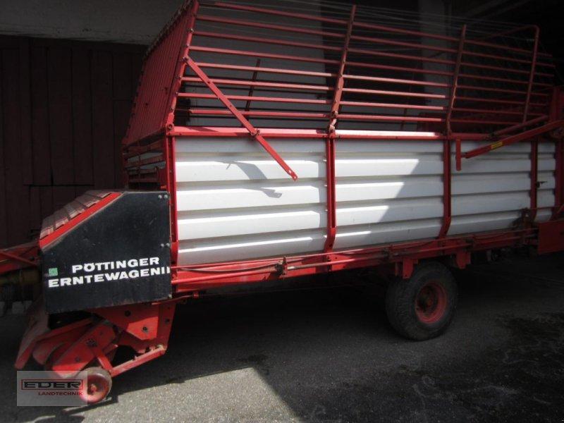 Ladewagen des Typs Pöttinger Erntewagen II, Gebrauchtmaschine in Lonsee (Bild 1)