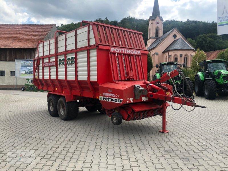 Ladewagen des Typs Pöttinger Europrofi 2, Gebrauchtmaschine in Treuchtlingen (Bild 3)
