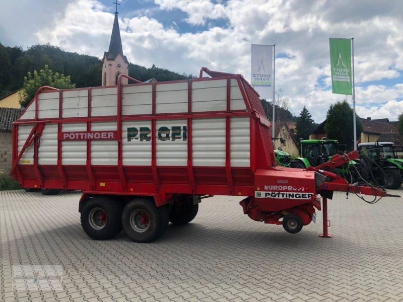 Ladewagen des Typs Pöttinger Europrofi 2, Gebrauchtmaschine in Treuchtlingen (Bild 4)