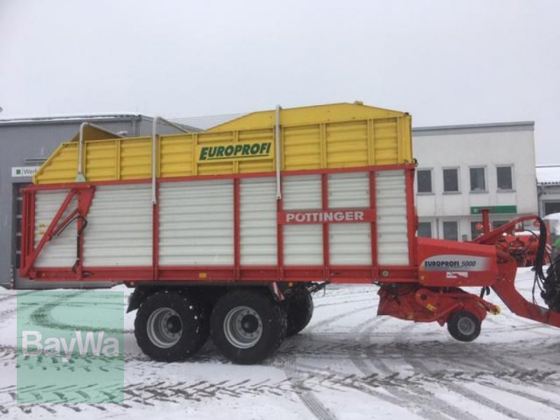 Ladewagen des Typs Pöttinger EUROPROFI 5000, Gebrauchtmaschine in Waldkirchen (Bild 4)