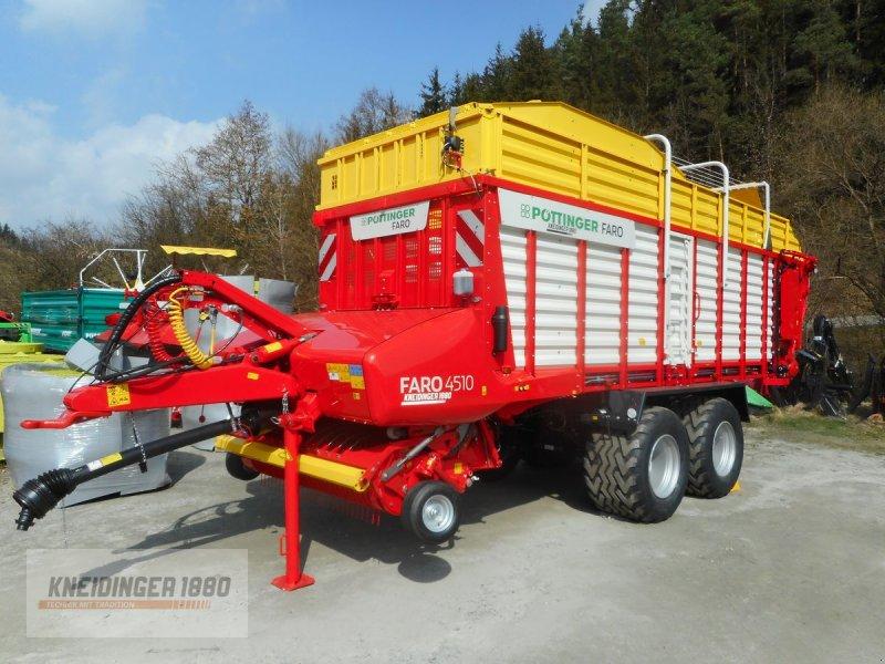 Ladewagen des Typs Pöttinger Faro 4510 D, Neumaschine in Altenfelden (Bild 1)