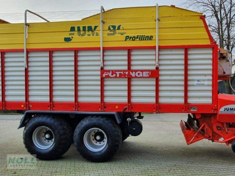 Ladewagen des Typs Pöttinger jumbo 6600 l, Gebrauchtmaschine in Limburg (Bild 2)
