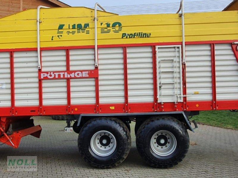 Ladewagen des Typs Pöttinger jumbo 6600 l, Gebrauchtmaschine in Limburg (Bild 1)
