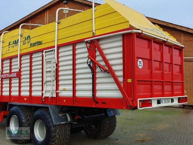Ladewagen des Typs Pöttinger jumbo 6600 l, Gebrauchtmaschine in Limburg (Bild 4)