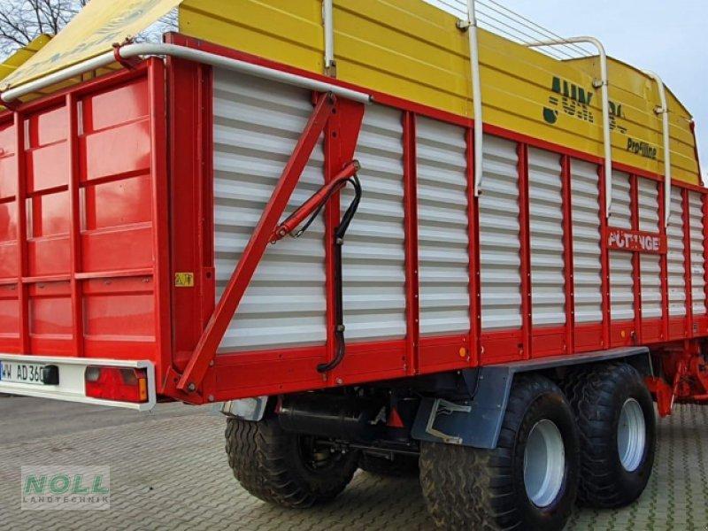 Ladewagen des Typs Pöttinger jumbo 6600 l, Gebrauchtmaschine in Limburg (Bild 3)