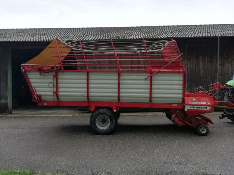 Ladewagen a típus Pöttinger Ladeprofi 2, Gebrauchtmaschine ekkor: Egling (Kép 1)