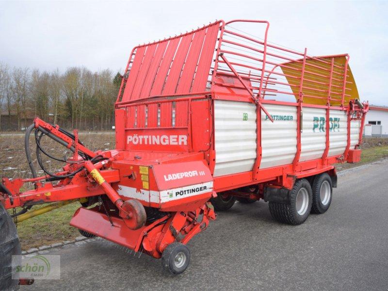 Ladewagen a típus Pöttinger Ladeprofi 3 mit 19-er Breitreifen, Gebrauchtmaschine ekkor: Burgrieden (Kép 1)