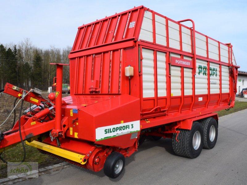 Ladewagen a típus Pöttinger Siloprofi 3 L im Topzustand und mit Deichselfederung !!!, Gebrauchtmaschine ekkor: Burgrieden (Kép 1)