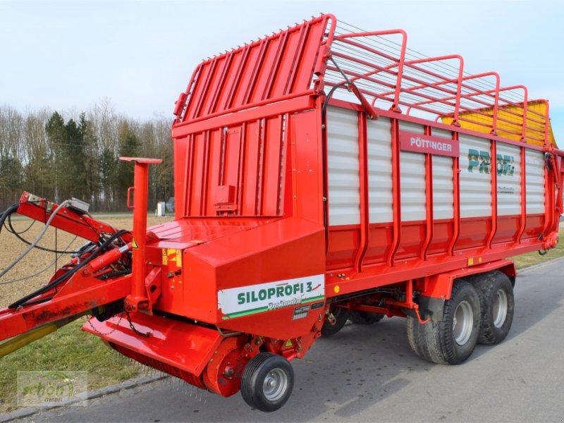 Ladewagen a típus Pöttinger Siloprofi 3 L Profimatic mit hydraulischem Dürrfutteraufbau, Gebrauchtmaschine ekkor: Burgrieden (Kép 1)