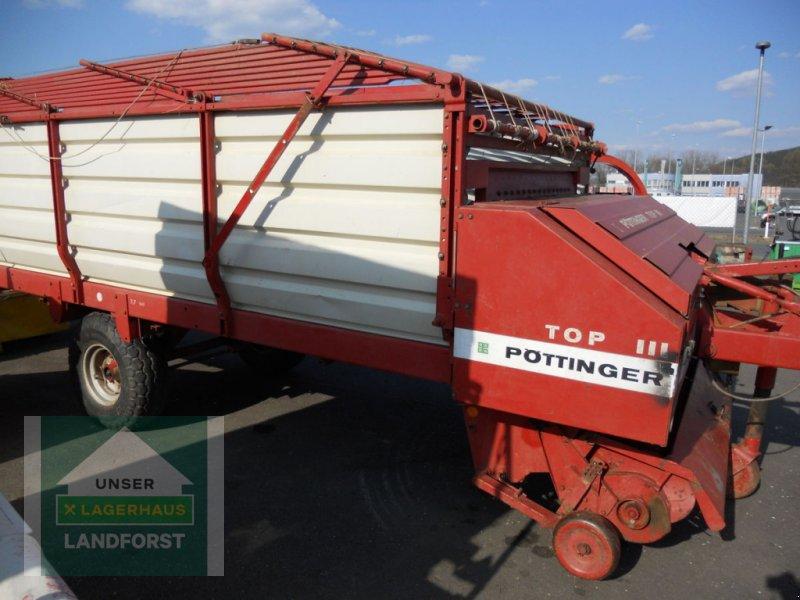 Ladewagen a típus Pöttinger Top 3, Gebrauchtmaschine ekkor: Knittelfeld (Kép 8)