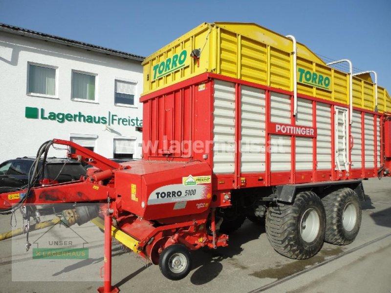 Ladewagen a típus Pöttinger TORRO 5100 D, Gebrauchtmaschine ekkor: Freistadt (Kép 1)