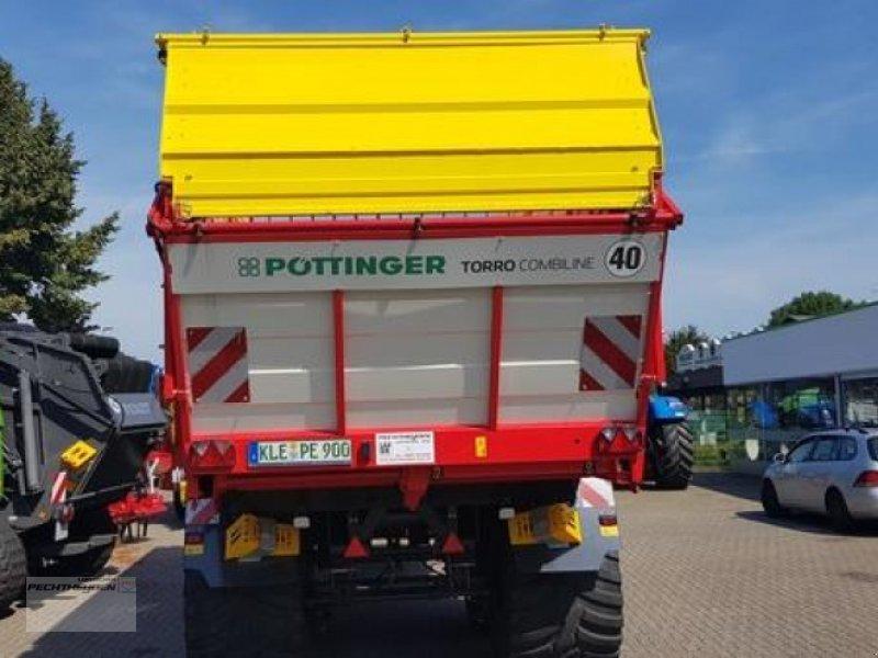Ladewagen des Typs Pöttinger TORRO 6510 D COMBILI, Vorführmaschine in Rees (Bild 3)