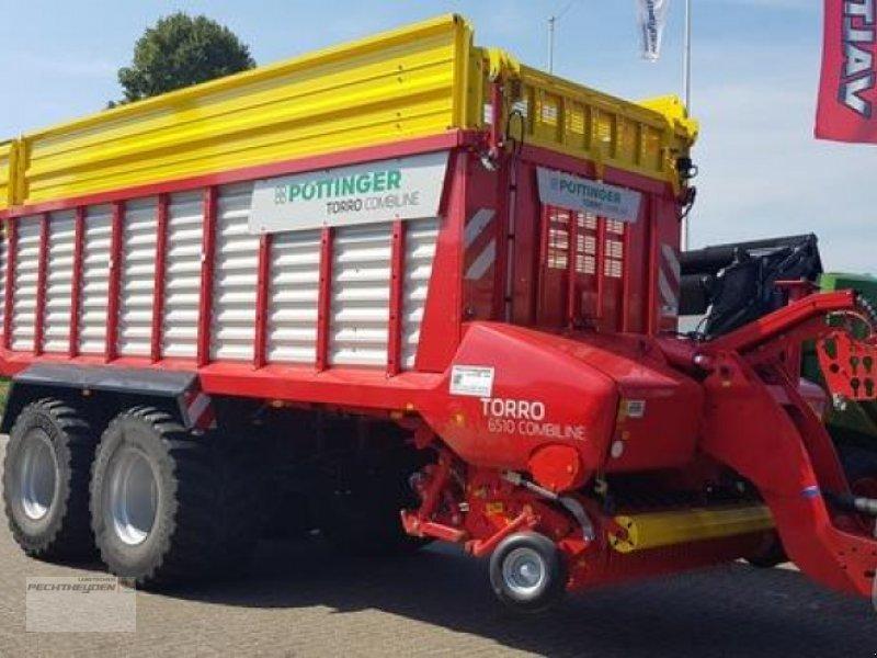 Ladewagen des Typs Pöttinger TORRO 6510 D COMBILI, Vorführmaschine in Rees (Bild 1)