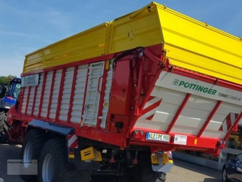 Ladewagen des Typs Pöttinger TORRO 6510 D COMBILI, Vorführmaschine in Rees (Bild 4)