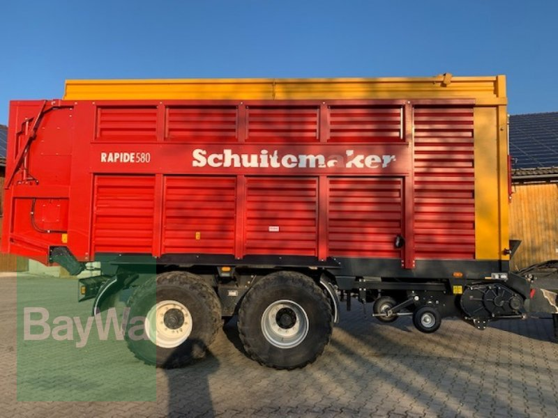Ladewagen typu Schuitemaker Rapide 580 S, Gebrauchtmaschine v Neumarkt-St.Veit (Obrázok 1)