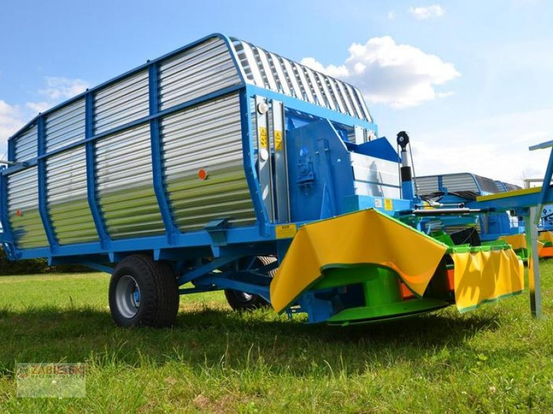 Ladewagen типа Sonstige Mähladewagen Zamet T635/1 5000 kg 19 m3 Ścinacz zielonek / La cortadora de forraje T635, Neumaschine в Jedwabne (Фотография 1)