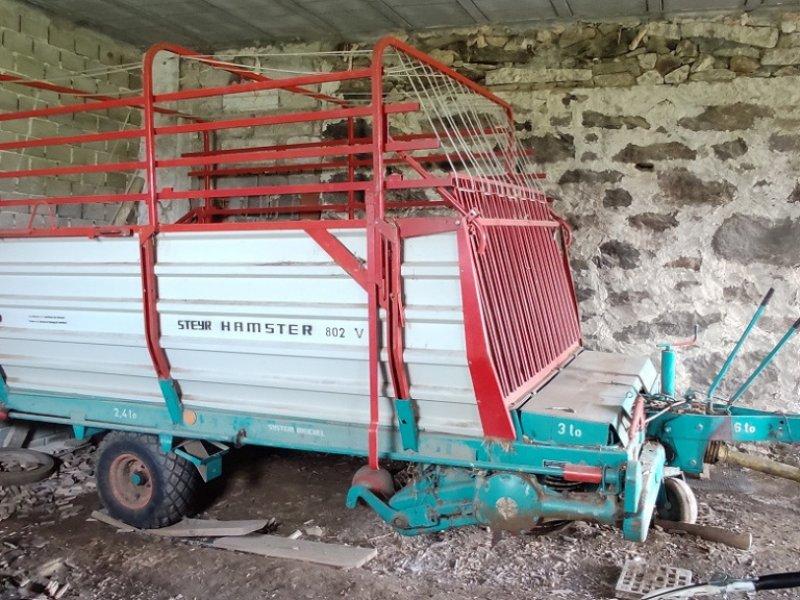 Ladewagen des Typs Steyr Hamster 802, Gebrauchtmaschine in Haslach (Bild 1)
