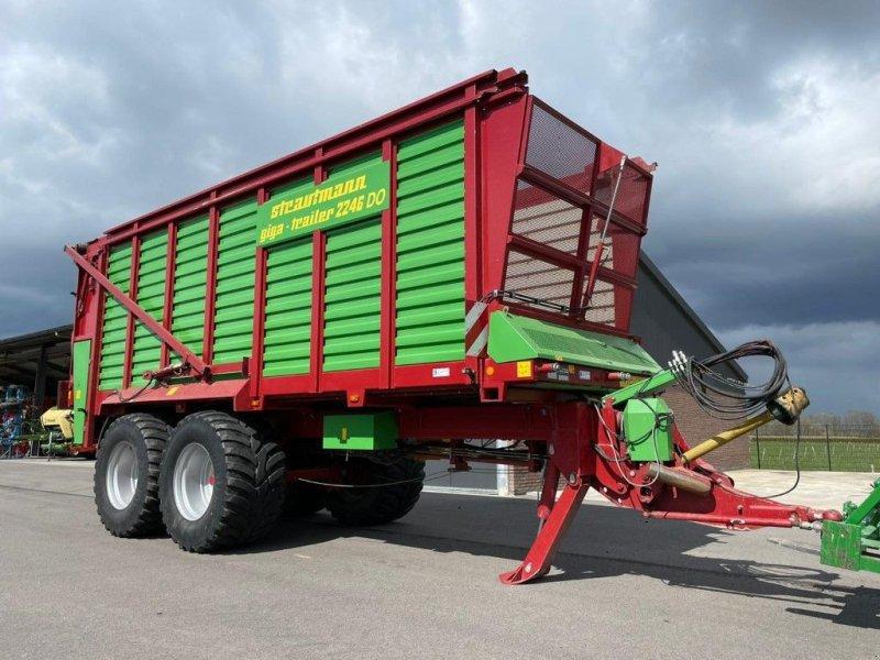 Ladewagen typu Strautmann Giga trailer 2246 DO, Gebrauchtmaschine v BENNEKOM (Obrázok 1)