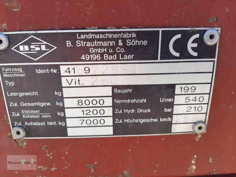 Ladewagen des Typs Strautmann Vitesse 260, Gebrauchtmaschine in Antdorf (Bild 6)