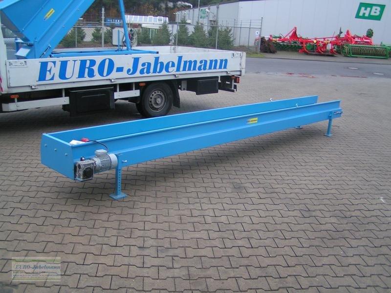 Lagertechnik typu EURO-Jabelmann gebr. Flachband 5500 x 400 mit Gummigurt, Gebrauchtmaschine w Itterbeck (Zdjęcie 1)