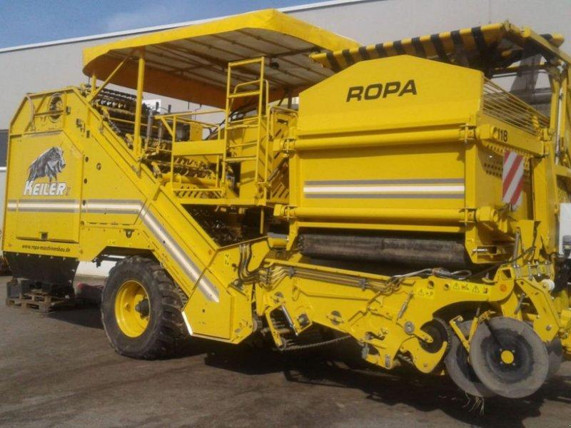 Lagertechnik des Typs ROPA Keiler I, Vorführmaschine in Harmannsdorf-Rückersdorf (Bild 1)
