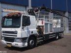 LKW des Typs DAF FA 75 CF 250 Hiab 14 ton/meter laadkraan ekkor: ANDELST