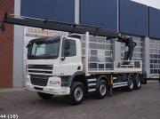 DAF FAD 85 CF 410 8x4 Euro 5 Hiab 37 ton/meter laadkraan Φορτηγό