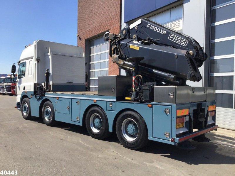LKW tip DAF FAD 85 CF460 8x4 Fassi 150 ton/meter laadkraan, Gebrauchtmaschine in ANDELST (Poză 4)