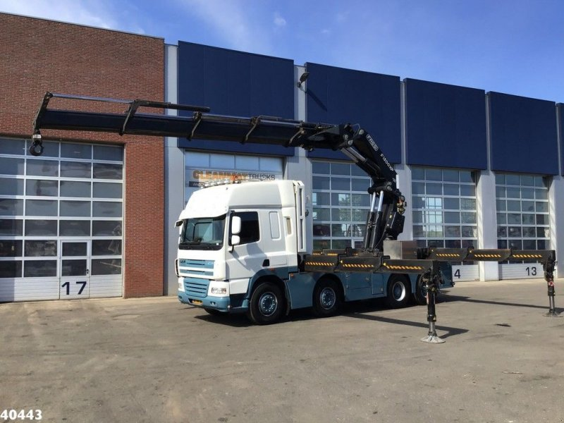 LKW a típus DAF FAD 85 CF460 8x4 Fassi 150 ton/meter laadkraan, Gebrauchtmaschine ekkor: ANDELST (Kép 1)